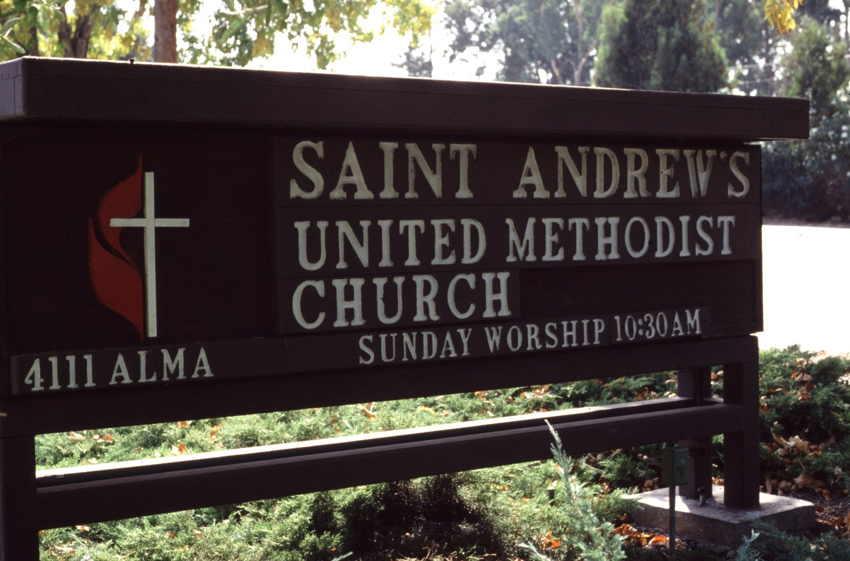 St Andrews United Methodist Church home page